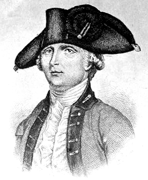 Engraving of Edmund Fanning. Image from the North Carolina Museum of History.