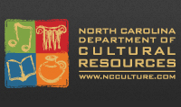 Logo of the North Carolina Department of Cultural Resources.