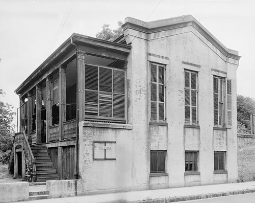 The Waring House, Mobile, Al., built by Dargan.