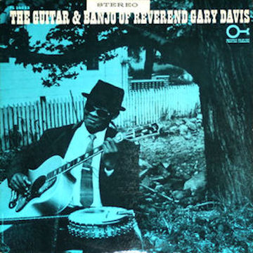 1964 album cover of The Guitar & Banjo of Reverend Gary Davis