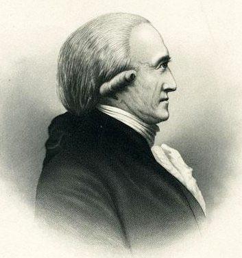 Lithograph print of Benjamin Hawkins. Image from the North Carolina Museum of History.