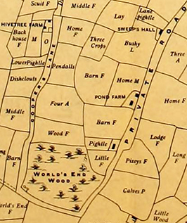 Map of Suffolk county, U.K., showing field names, 1902. Image from Archive.org.