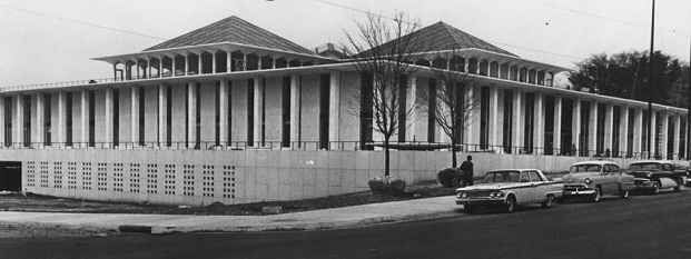 Photograph of the state legislative building, Raleigh, circa 1960-1963.