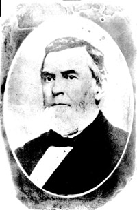 Photograph of Thomas Bragg. Image from the  State Archives of North Carolina.