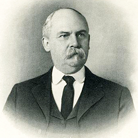 Lithograph print of Walter Clark. Image from the North Carolina Museum of History.
