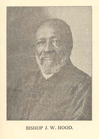 Photograph of Bishop James Walker Hood circa 1914