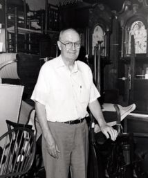 Frank L. Horton, founder of MESDA. Image courtesy of Digital Forsyth.