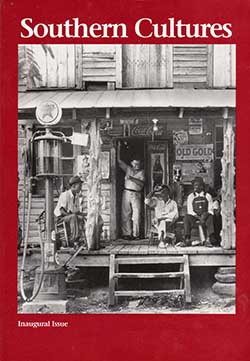 Inaugural issue of the Southern Cultures journal, 1993. Image from the Center for the Study of the American South, UNC-CH.