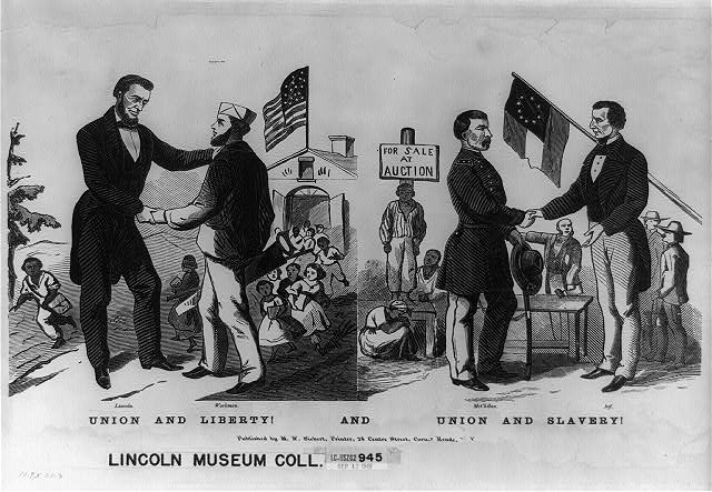 Library of congress lincoln museum collection union and liberty