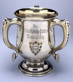 The William Houston Patterson Memorial Cup, a North Carolina literary award presented from 1905 to 1922. Image from the North Carolina Museum of History.
