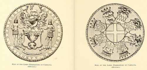 """Seal of the Lords Proprietors of Carolina."""