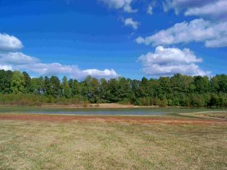 Tribal land of Meherrin Indians, Powwow still held here annually. Image courtesy of the Meherrin Indian Tribe website.