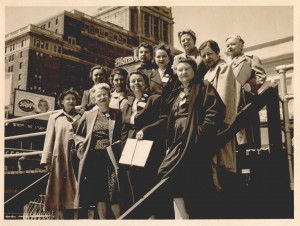 North Carolina delegation to the Biennial Convention of the AAUW, Atlantic Ciy, N.J., 22 April 1951