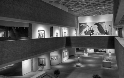 Exhibit areas of the North Carolina Museum of Art. Photograph courtesy of the North Carolina Museum of Art, Raleigh.