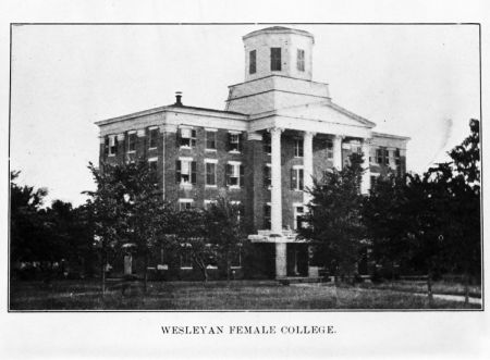 Wesleyan Female College. Image courtesy of the State Archives of North Carolina, call #: N_8_4_18_1.
