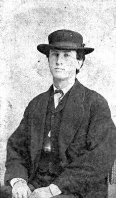 John Daniel Kerr, Sr., of New Hanover County, was elected captain of Company B, Seventh Battalion N.C. Junior Reserves, in June 1864 at age 18 c.late 1860's, photo by C. M. Van Orsdell. Image courtesy of the North Carolina Office of Archives and History, call #:N_95_4_8.