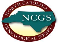 Logo of the North Carolina Genealogical Society. Image from the North Carolina Genealogical Society.