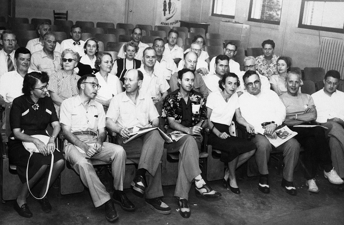 Photograph of the fourth annual North Carolina Writers Conference. Image courtesy of the State Archives of North Carolina.