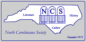 Logo of the North Caroliniana Society. Image from the North Caroliniana Society.