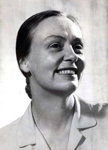 Frances Gray Patton, circa 1950-1957, winner of the Sir Walter Raleigh Award for Fiction in 1953, 1955, and 1956. Image from the North Carolina Museum of History.