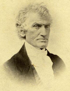 Thomas Ruffin, circa 1860-1870. Chief Justice of the Supreme Court of North Carolina from 1833-1852. Image from the North Carolina Museum of History.