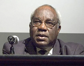 Julius L. Chambers, 2007. Image from the Wikimedia Commons.