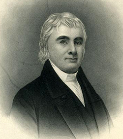 John Haywood, Treasurer of North Carolina for 40 years. Image from the North Carolina Museum of History.