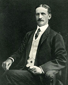 Businessman George W. Watts (1851-1921). Image from the North Carolina Museum of History.