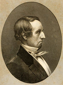 Engraving of William Rufus King by W.H. Dougal, 1854. Image from Archive.org.