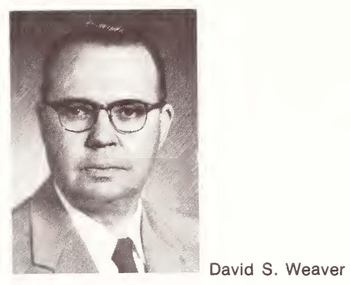 Image of David Stathem Weaver, from Raleigh: North Carolina Agricultural Extension Service, North Carolina State University, 1979, [p. 69], published in 1979 by North Carolina Digital Collection.