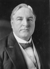 Alabama Representative and Senator James Thomas Heflin (1869 - 1951). Image from the Biographical Dictionary of the United States Congress.