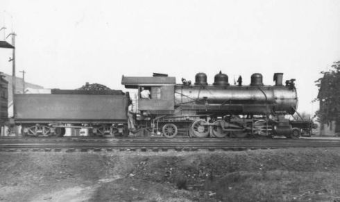 A&R early power, #:4-6-0 #20. Image available from the Aberdeen & Rockfish Railroad Company.