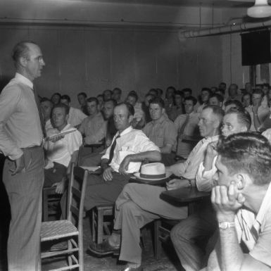 Farm and Home Week Meeting, 1947. North Carolina Cooperative Extension Service, NCSU University Archives Photographs.