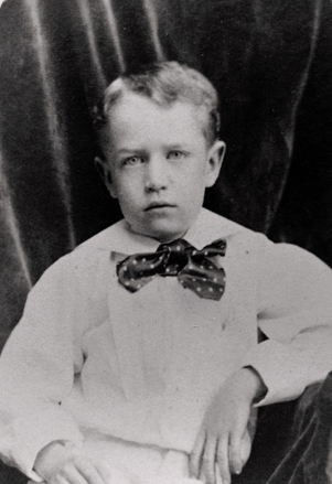 """Possible portrait of Frederick Fries Bahnson (1876-1944) who was the son of Henry T. Bahnson and Emma Bahnson nee Fries. He married Bleeker Estelle Reid."" Image courtesy of Digital Forsyth."