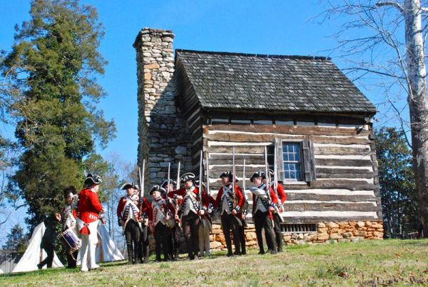 Reenactment of the Battle of Guilford Court House