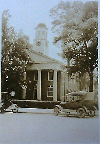 Orange County Courthouse, Hillsborough, NC. Courtesy of NC Museum of History.