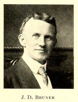 James Dowden Bruner. Image courtesy of UNC Libraries.