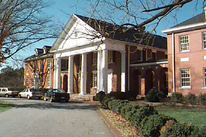 Buffalo Church, Greensboro. Image courtesy of NC Historical Markers (J-33), North Carolina Office of Archives & History.