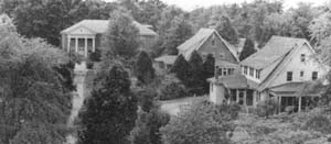 Palmer Memorial Institute campus. Image courtesy of NC Historic Sites.