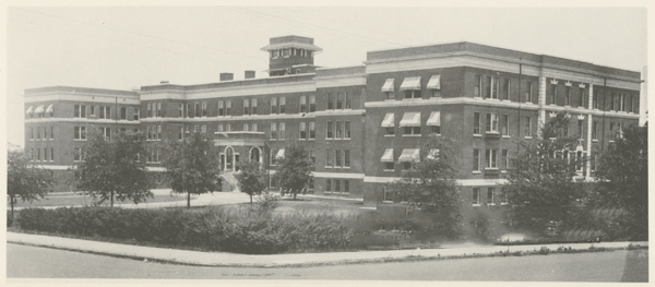 """City Memorial Hospital, 1924."" Image courtesy of Digital Forsyth."