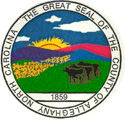 Alleghany County seal