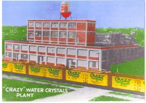 The Crazy Water Crystals Plant, built 1919. Image courtesy of University of Texas Libraries.