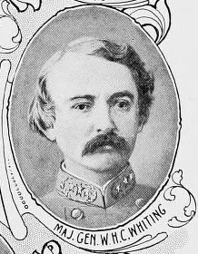 Image of William Henry Chase Whiting, from Internet Archive 1901, [p. opposite title page], published in 1901 by Raleigh, E.M. Uzzell, printer. Presented on Internet Archive.
