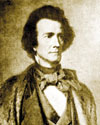 James C. Dobbin, secretary of the Navy, 1852, and graduate of Fayetteville Academy. Image courtesy of North Carolina State Archives.