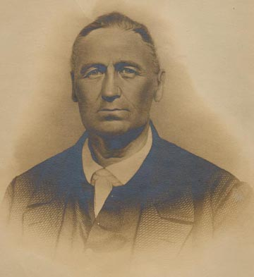 Peter Doub. Image courtesy of Brock Historical Museum, Greensboro College.