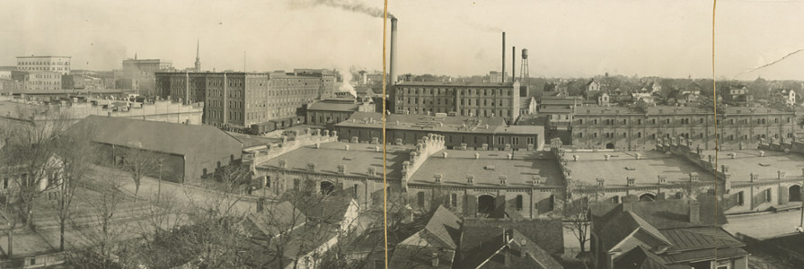 American Tobacco factory