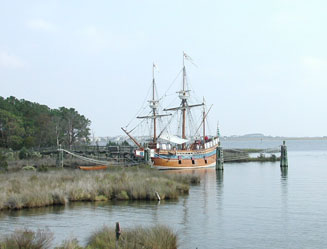 Elizabeth II, replica ship
