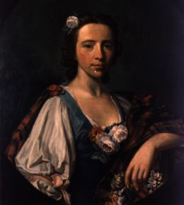 Flora MacDonald; painting by Allan Ramsay. From the NC Museum of History.  Used courtesy of the NC Department of Cultural Resources.