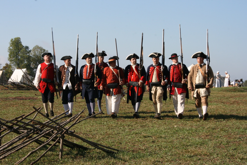 French And Indian War Provincial Uniforms From braddock to final victory