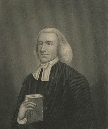 John Gano. Image courtesy of the New York Public Library.